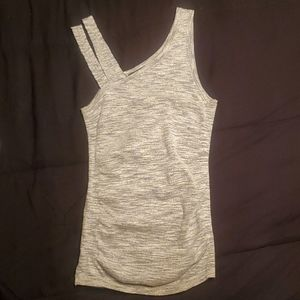 Express Grey Stretch Tank Top Sixe XS